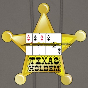 Olive texas holdem shooting star (DDP) T-Shirts - Men's Hoodie