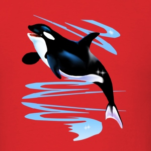 Orca Splash - Men's T-Shirt