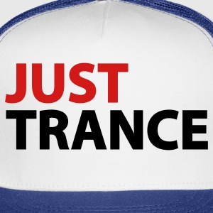 White Just Trance Women's T-Shirts - Trucker Cap
