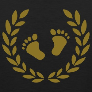 Black Baby feet T-Shirts - Men's Premium Tank