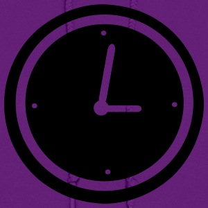 Purple Clock - Time Women's T-Shirts - Women's Hoodie