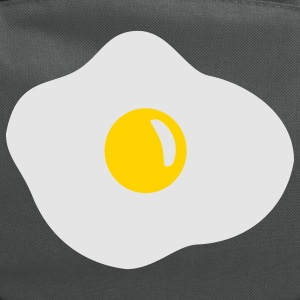 Bright green Fried egg T-Shirts - Computer Backpack