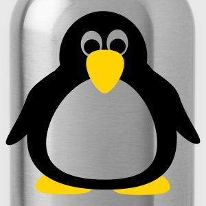 Turquoise Penguin T-Shirts - Water Bottle
