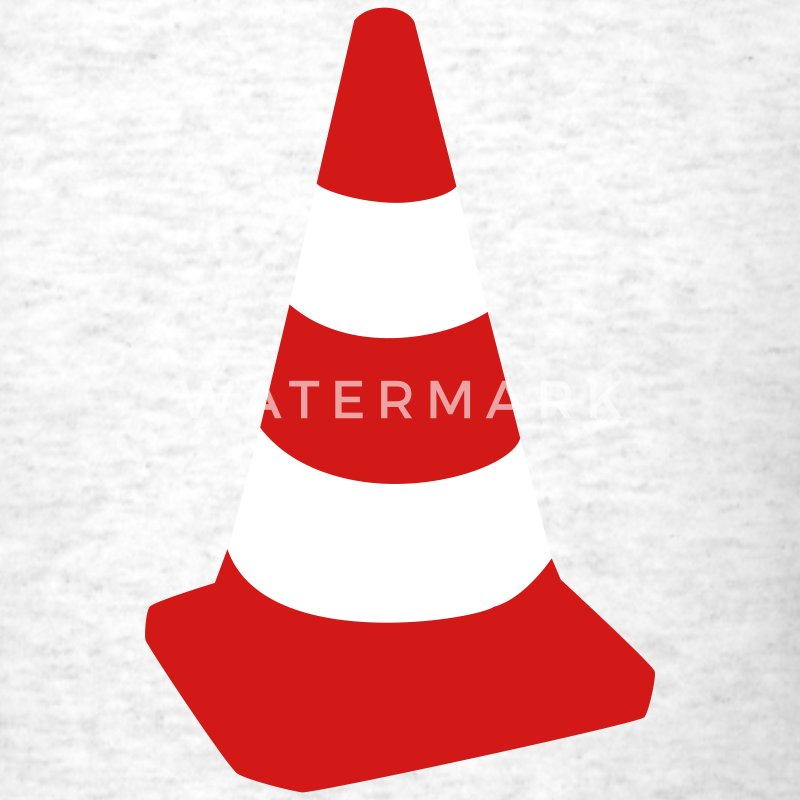 Light oxford Traffic cone T-Shirts - Men's T-Shirt