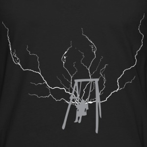 Black swing lightning T-Shirts - Men's Premium Long Sleeve T-Shirt