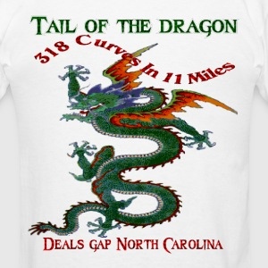 Tail Of The Dragon 4 Design Long Sleeve Shirts - Men's T-Shirt