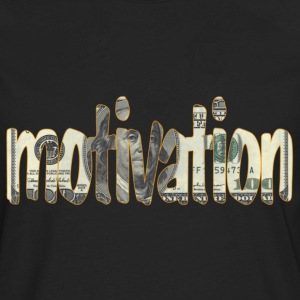 Money is Motivation - Men's Premium Long Sleeve T-Shirt