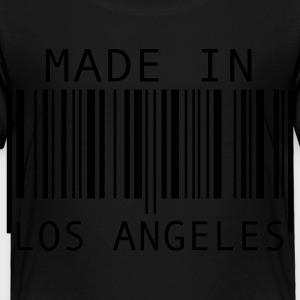 Black Made in Los Angeles Kids' Shirts - Toddler Premium T-Shirt
