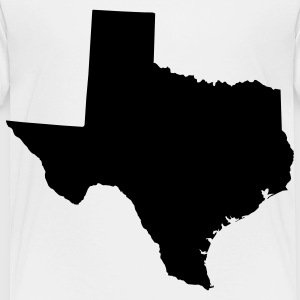 White texas Kids' Shirts - Toddler Premium T-Shirt
