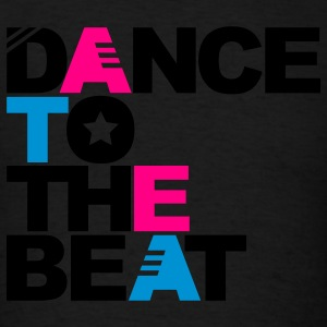 Black Dance to the Beat Sweatshirts - Men's T-Shirt