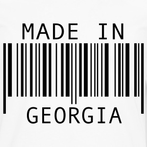 White Made in Georgia Kids' Shirts - Men's Premium Long Sleeve T-Shirt