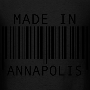 Black Made in Annapolis Bags  - Men's T-Shirt
