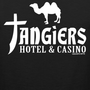 Black Tangiers T-Shirts - Men's Premium Tank