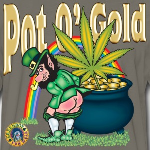 Pot O' Gold - Men's Premium Long Sleeve T-Shirt