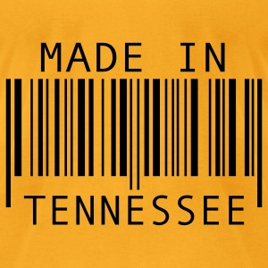 Creme Made in Tennessee Bags  - Men's T-Shirt by American Apparel