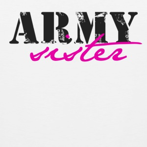 army sister Women's T-Shirts - Men's Premium Tank