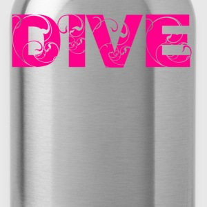Heather grey dive Women's T-Shirts - Water Bottle