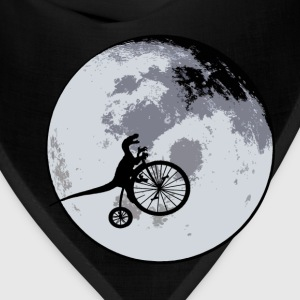 Raptor Over The Moon - Bandana