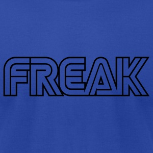 Royal blue Freak Hoodies - Men's T-Shirt by American Apparel