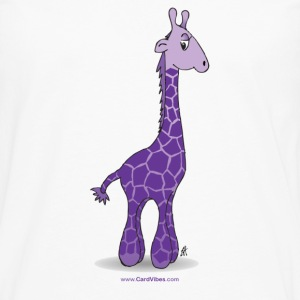 White Rocky the Giraffe Kids & Baby - Men's Premium Long Sleeve T-Shirt
