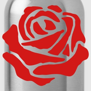 White Rose - Water Bottle