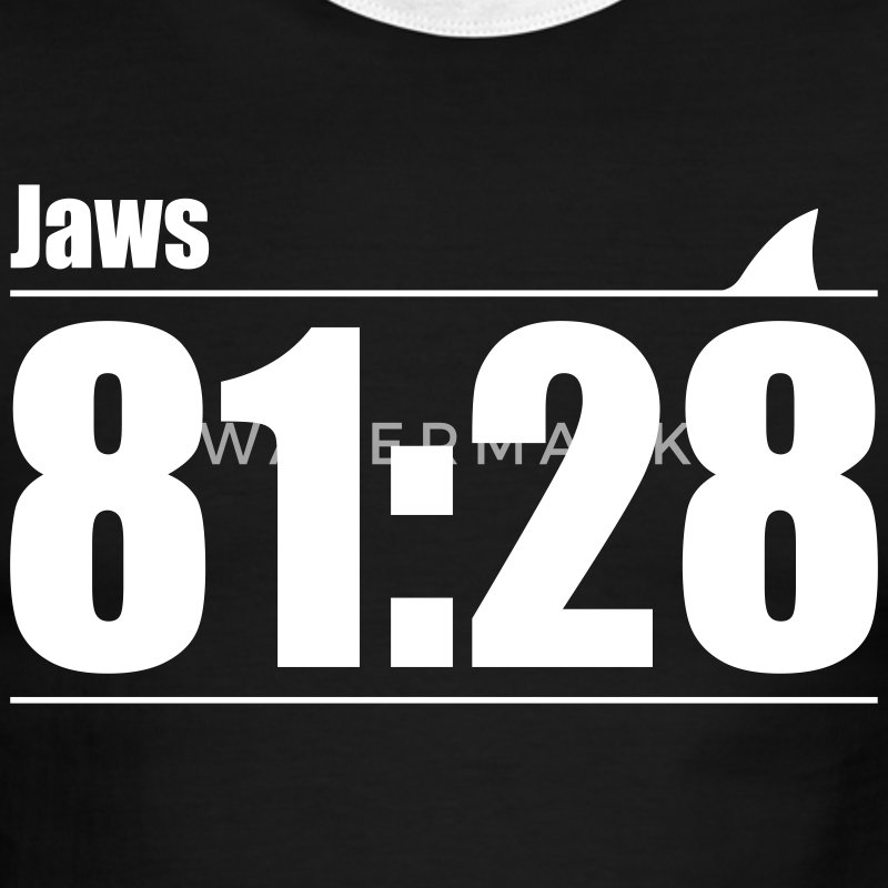Green/white Jaws: You're gonna need a bigger boat T-Shirts - Men's Ringer T-Shirt