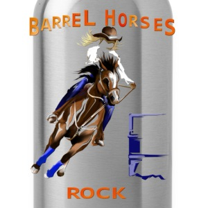 Barrel Horses Rock - Water Bottle