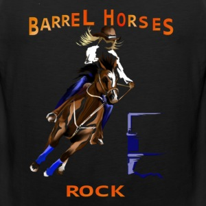 Barrel Horses Rock - Men's Premium Tank