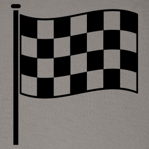 checkered flag RACING motor sport Women's T-Shirts - Baseball Cap