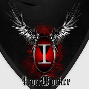 ironworker_wings T-Shirts - Bandana