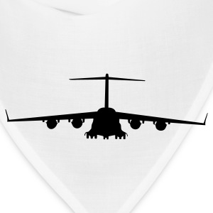White airplane aircraft T-Shirts - Bandana