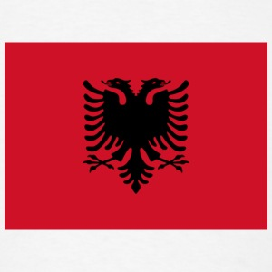 Current Flag of Albania - Men's T-Shirt