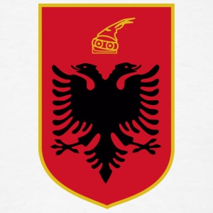 Current Official Coat of Arms of Republic of Albania - Men's T-Shirt