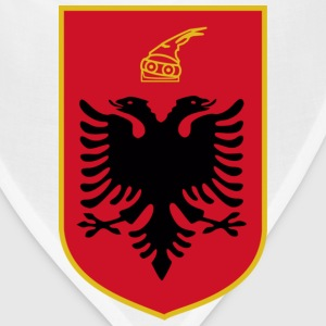 Current Official Coat of Arms of Republic of Albania - Bandana