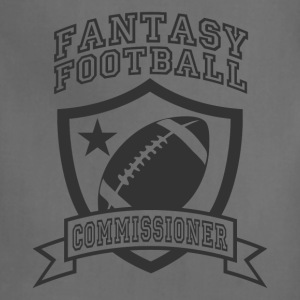 Khaki fantasy football commissioner T-Shirts - Adjustable Apron