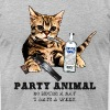 Party Animal T-Shirts - Men's T-Shirt by American Apparel