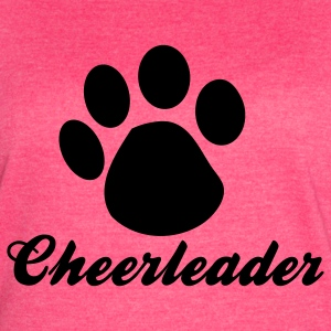 Fuchsia cheerleader paw Tanks - Women's Vintage Sport T-Shirt