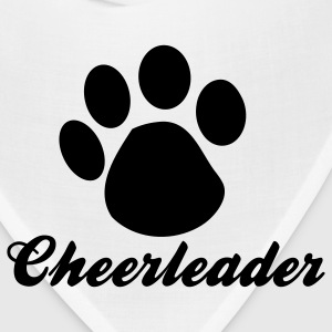 Fuchsia cheerleader paw Tanks - Bandana