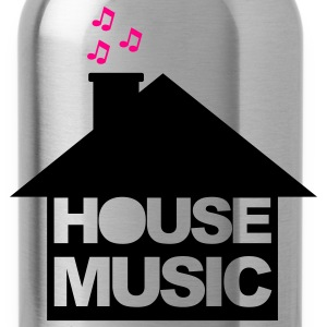 Black House Music T-Shirts - Water Bottle