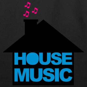 Black House Music V2 Women's T-Shirts - Eco-Friendly Cotton Tote