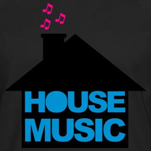 Black House Music V2 Women's T-Shirts - Men's Premium Long Sleeve T-Shirt