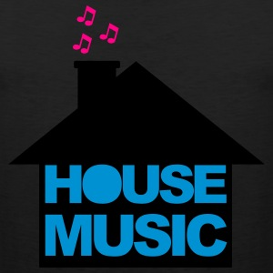 Black House Music V2 Women's T-Shirts - Men's Premium Tank