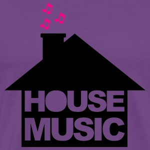 Light pink House Music Hoodies - Men's Premium T-Shirt