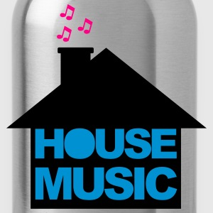 Light pink House Music V2 Hoodies - Water Bottle