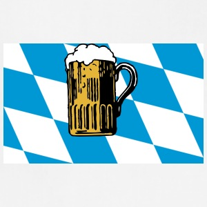 Bavarian Flag Oktoberfest - Adjustable Apron
