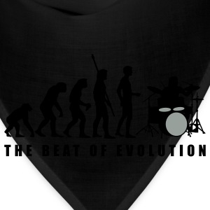 Royal blue evolution_drummer_c_2c T-Shirts - Bandana