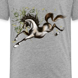 Running Horse-plain - Toddler Premium T-Shirt