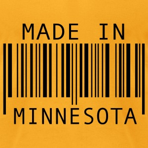 Creme Made in Minnesota Bags  - Men's T-Shirt by American Apparel