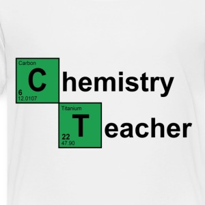 White Chemistry Teacher Breaking Bad Kids' Shirts - Toddler Premium T-Shirt