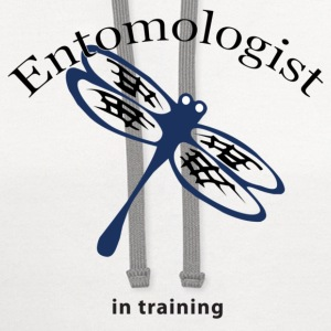White Entomologist in Training Kids' Shirts - Contrast Hoodie